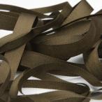 エンブロイダリーリボン 3.5mm コーヒーブラウン 9.14M巻 手芸 服飾 ラッピング リボン刺繍