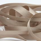 Fujiyama Ribbon エンブロイダリーリボン 7mm サンドベージュ 9.14M巻 手芸 服飾 ラッピング リボン刺繍