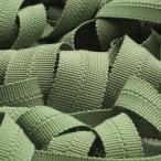 リボン テープ 手芸ニットバインダーテープ ポリエステル 10x10mm セージグリーン 9.14M巻 服飾 メートライン バイアステープ FUJIYAMA RIBBON