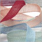 リボン刺しゅう 素材として大人気のエンブロイダリーリボン 約7mm(5メートルパック)【MOKUBA 木馬リボン 通販 刺繍】