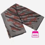 エルメス スカーフ70 「Wild Horses」 グレー系 カシミヤ×シルク 展示未使用品 HERMES