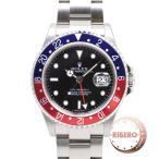 ROLEX ロレックス GMTマスターII Ref.16710 Z番 Cal.3186 スティックダイアル 箱、保証書付 USED