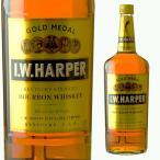 大容量 IWハーパー ゴールドメダル 40度 1000ml ウイスキー バーボン