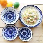 16ピースセット  美しいボレスワヴィエツの街 リーフドット 家族のランチセット ポタリー風 ポタリーフィールド 陶器/オープン記念