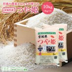 米 つや姫 5kg×2袋 米 白米 お米 10kg 令和元年産 宮城県産 送料無料 精白米