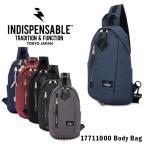 インディスペンサブル INDISPENSABLE ボディバッグ 17711000 DAPPER  ウエストバッグ ワンショルダー メンズ レディース