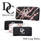 ショッピングドレス ドレスキャンプ DC DRESSCAMP 長財布 DC-5500  財布 ユニセックス ラウンドファスナー