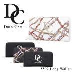 ショッピングドレス ドレスキャンプ DC DRESSCAMP 長財布 DC-5502  財布 ユニセックス ラウンドファスナー
