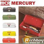 MERCURY マーキュリー ミニツールボックス Mini Tool Box カーキ ブリキ製 工具箱 C197 5色展開 他のカラーも選べます おしゃれ インテリア 雑貨 小物