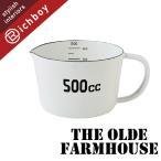 THE OLD FARMHOUSE ザ・オールドファームハウス ホワイトホーロー Sシリーズ メジャーカップ 計量カップ 500cc