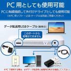ロジテック 音楽CD取り込みドライブ WiFi 2.4Ghz対応 11n iOS/Android対応 USB2.0 ホワイト LDR-PS2