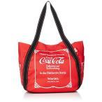 コカ・コーラ トートバッグ コーラ バルーントート 大容量 マザーズバッグ レディース レトロ/レッド