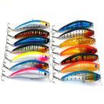 釣具 シンキングバイブレーション 11.5cm11.2g 14色セット