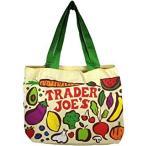 トレーダージョーズ trader joe's コットン トート エコ バッグ トレジョ スーパー 日本未上陸 ホールフーズ ショッピングバッグ