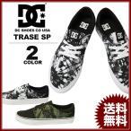 ディーシー シューズ DC SHOES スニーカー メンズ TRASE SP 靴 ブラックタイダイ 黒 カモ フットウェア FOOTWEAR SNEAKER