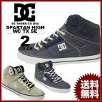 ディーシー シューズ DC SHOES ハイカット スニーカー メンズ SPARTAN HIGH WC TX SE 靴 グレー ネイビー フットウェア FOOTWEAR SNEAKER