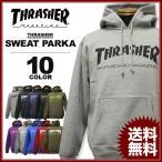 スラッシャー THRASHER パーカー PARKA スエット スウェット ブラック 黒 グリ−ン 緑 グレー オリーブ パープル 紫 ロイヤル メンズ MAG LOGO SWEAT