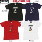 スラッシャー THRASHER Tシャツ T-SHIRTS 半袖 ブラック 黒 ネイビー レッド 赤 ホワイト 白 メンズ PIZZA SOWN KIDS キッズサイズ ユースサイズ ジュ