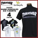 スラッシャー THRASHER マークゴンザレス Tシャツ 半袖 ブラック 黒 ホワイト 白 メンズ MARK GONZALES MAG LOGO T-SHIRTS