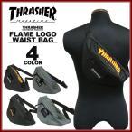 ����å��㡼 THRASHER FLAME LOGO WAIST BAG �������ȥХå� �ҥåץХå�