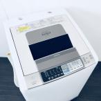 中古 日立 HITACHI 洗濯機 全自動洗濯機 2011年製 8.0kg 乾燥機 BW-D8LV