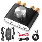 Yahoo!Rinatex[新商品] Nobsound NS-01G Pro パワーアンプ bluetooth 50W×2 アンプ スピーカー HiFi オーディオ 電源付き (ブラック)