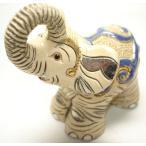 置物 ゾウ ぞう 象 陶器 886