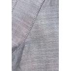 ディオールオム Dior HOMME 解れ加工胸ポケット半袖シャツ 37 グレー【BS99】【702191】【中古】