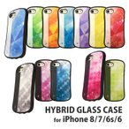 アイドリッシュセブン iPhone8/7/6s/6対応ハイブリッドガラスケース IDS-01D / 四葉 環(よつば たまき)