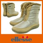 ショッピングスノーシューズ 防水ブーツ スノーブーツ スノーシューズ エレッセ 561 オーク ellesse レディース ショート 防寒 ブーツ