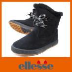 防水ブーツ スノーブーツ スノーシューズ エレッセ 664 ブラック クロ レディース ショート 防寒 防滑 ブーツ