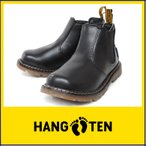 HANG TEN ハンテン HT 02453 サイドゴア ブーツ 靴 入学 入園 発表会 キッズ ジュニア 男の子 女の子