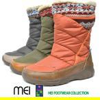 MEI 913 レディース 防水ブーツ  スノーブーツ ウィンターブーツ 軽量 ノルデック ブーツ
