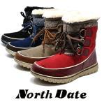 North Date ノースデイト ME 7005 ダテハキ 冬靴  レディース 防寒 ショート スノーブーツ スパイク カジュアルブーツ 雪 防滑
