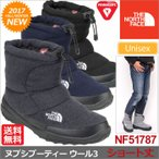 ノースフェイス ブーツ ヌプシブーティー ウール 3 ショート 全4色  NF51787 THE NORTH FACE NUPTSE BOOTIE WOOL III SHORT