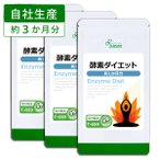 スリム酵素 約1か月分×3袋 T-659-3 送料無料 サプリ サプリメント
