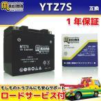 マキシマバッテリー MTZ7S 1年保証 MFバッテリー (互換 YTZ7S/GTZ7S/DTZ7S/FTZ5L-BS) ZOOMER ズーマーデラックス