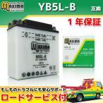 バイクバッテリー MB5L-B 1年保証 開放型 (互換 YB5L-B/12N5 ...