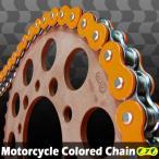 XR650 CYCバイクチェーン オレンジ 525-120L