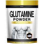 BULKEY(バルキー) グルタミン パウダー サプリメント 500g100食分 幸せラボ 送料無料