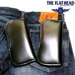 THE FLAT HEAD(ザ・フラットヘッド) SEMI LONG WALLET クロコダイル&コードバン セミロング革財布【メンズ/アメカジ/バイカー/長財布/日本製/送料無料】