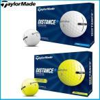 ☆2021 TaylorMade テーラーメイド DISTANCE + ディスタンスプラス 1ダース(12球入り) ゴルフボール US仕様