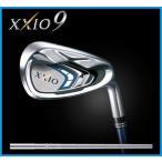 ショッピングゼクシオ ダンロップ XXIO9 ゼクシオナイン 9  アイアン5本セット(6-9,PW) ゼクシオ N.S.PRO 890GH DST スチールシャフト