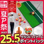 本日最大30%ポイントバック!!ゴルフ 練習器具 自宅 スイング 素振り マット ボール 12個付き 用具 30×60