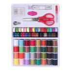 電動ミシン針 糸 常備糸 手縫い糸 ミシン縫い糸 裁縫道具セット 手芸 簡易な収納箱付き セット