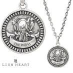 ライオンハート クラシックネックレス/THE WORLD/シルバー925 1NE209E0WO LION HEART Intent コイン タロットカード ワールド/世界 メンズ ブランド