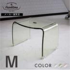 フランクタイム 風呂椅子 M シンプル アクリル 透明 バスチェア