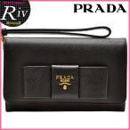 ショッピングプラダ ストラップ プラダ PRADA 財布 二つ折り財布 ストラップ付き 1MH438