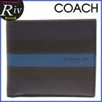 コーチ COACH 財布 メンズ 二つ折り アウトレット F75394