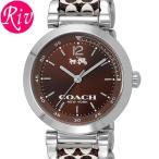 [厳選]コーチ COACH 腕時計 レディース COACH 1941SPORT 30mm ブラウン シルバー ステンレススチール 14502317